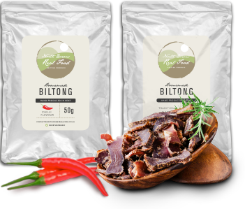 Homemade Flavoured Biltong Taster Pack